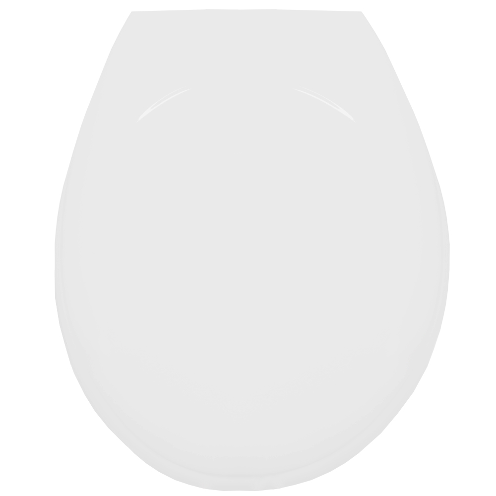 Assento Termofixo LUXO Carina / Oval Convencional para Louça Ideal Standard Tupan.