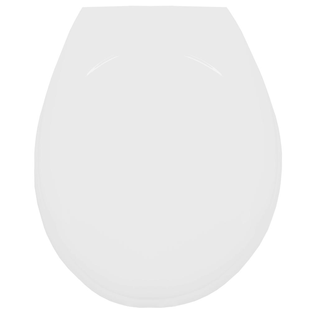 Assento Termofixo LUXO Diamantina / Oval Convencional para Louça Icasa Tupan.