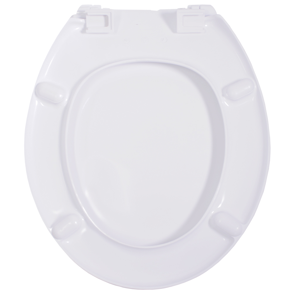 Assento Termofixo LUXO Fiori / Oval Convencional para Louça Incepa Tupan.