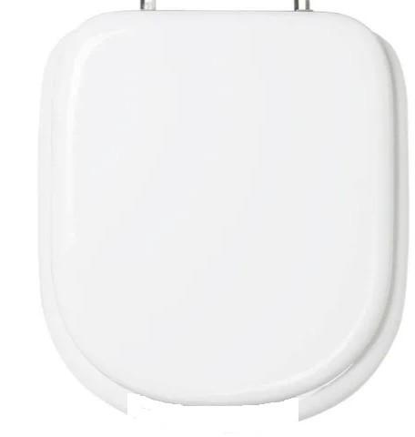 Assento Vogue Plus Branco Almofadado Super Luxo Para bacia Vogue Plus Conforto - P51