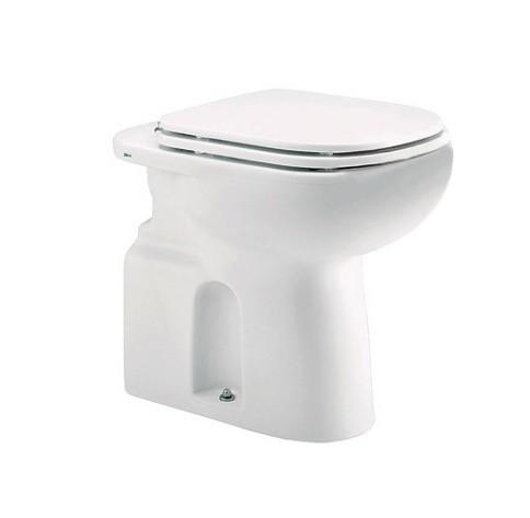 Assento Vogue Plus Branco em Poliéster/Acrílico Para bacia Vogue Plus Conforto - P510