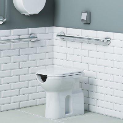 Assento Vogue Plus Branco em Polipropileno Para bacia Vogue Plus Conforto - P51