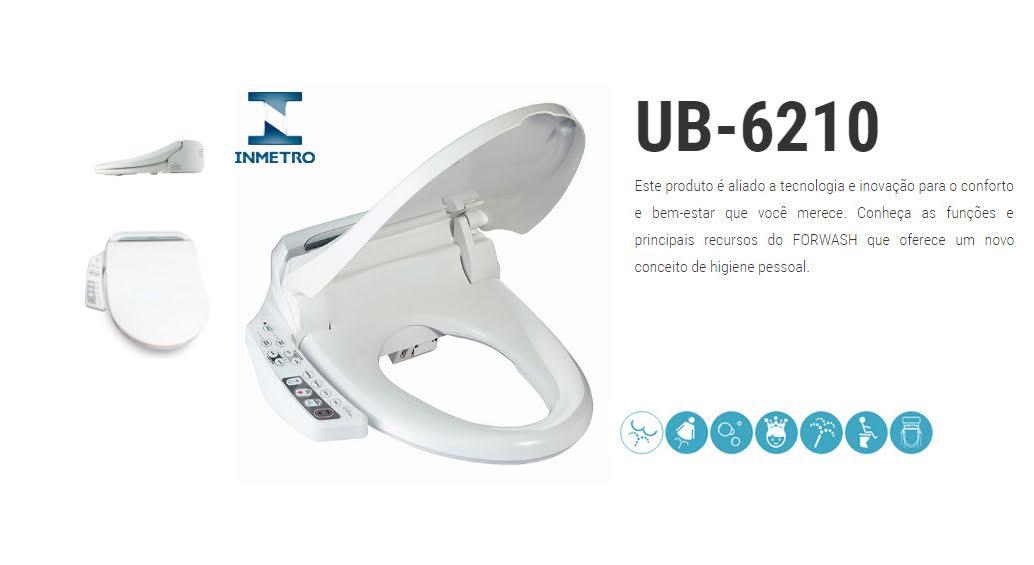 Bidê Eletrônico - Assento Sanitário Eletrônico - UB-6210