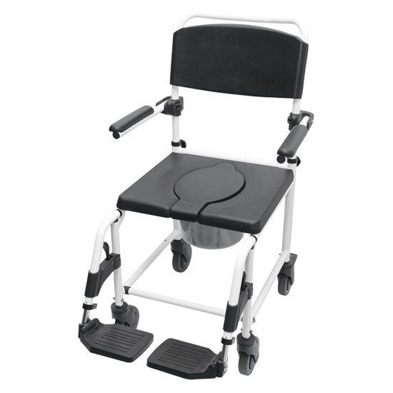 Cadeira de Banho com Rodas para Banho  Para Deficiente, Cadeirante ou Idoso.