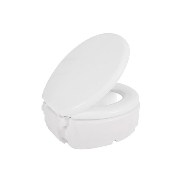 Assento Elevado Almofadado 16,5 cm para Deficiente, Cadeirante ou Idoso.