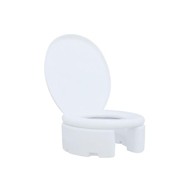 Assento Elevado Almofadado 18 cm  para Idosos, Desabilitados e Mobilidade Reduzida