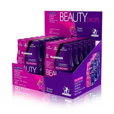 Caixa Beauty Drops Protein Glamour Nutrition 12 un - Midway