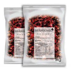 Chá de Hibisco Flor 2kg - Esverdeando