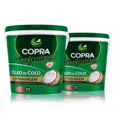 Combo 2x Baldes de Óleo de Coco Extra Virgem 3,2Lts - Copra