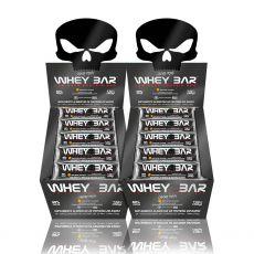 Combo 2x Display com 24 unidades Whey Bar 30g - Black Skull