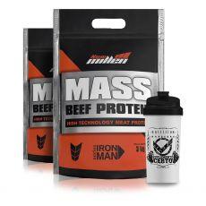 Combo 2x Mass Beef Protein 3kg + Coqueteleira - New Millen
