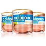 Combo 3x Colágeno Hidrolisado 2 em 1 Verisol 250g - Maxinutri