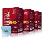 Combo 3x Maca Ultra 2000mg 90 Caps + Porta Caps - Maxinutri