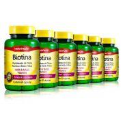Combo 6x Biotina 60 Caps - Maxinutri