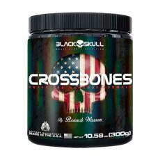 Pré-Treino Crossbones 300g - Black Skull
