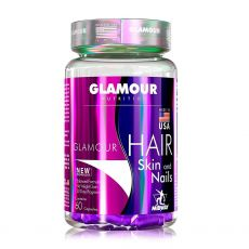 Hair Skin And Nails 60 Caps Glamour Nutrition - Midway