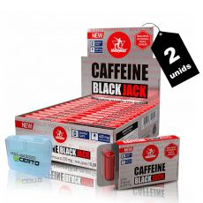 Kit 2x Cafeína Black Jack 24 Caps + Porta Caps - Midway