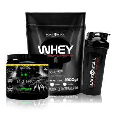 Kit Whey 900g + Pré Treino Depth-7 210g - Possession Nutrition
