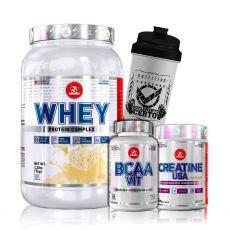 Kit Suplementos Whey Protein 1kg + Brindes Midway Labs