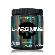 L-Arginine 300g Pré treino vasodilatador - Black Skull