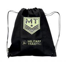Mochila Saco em Nylon Preta Military - Midway
