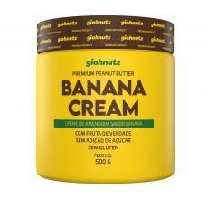Pasta de Amendoim Banana Cream 500g - Giohnutz