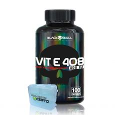 Vitamina E 100 Capsulas (Vit E 408IU) - Black Skull
