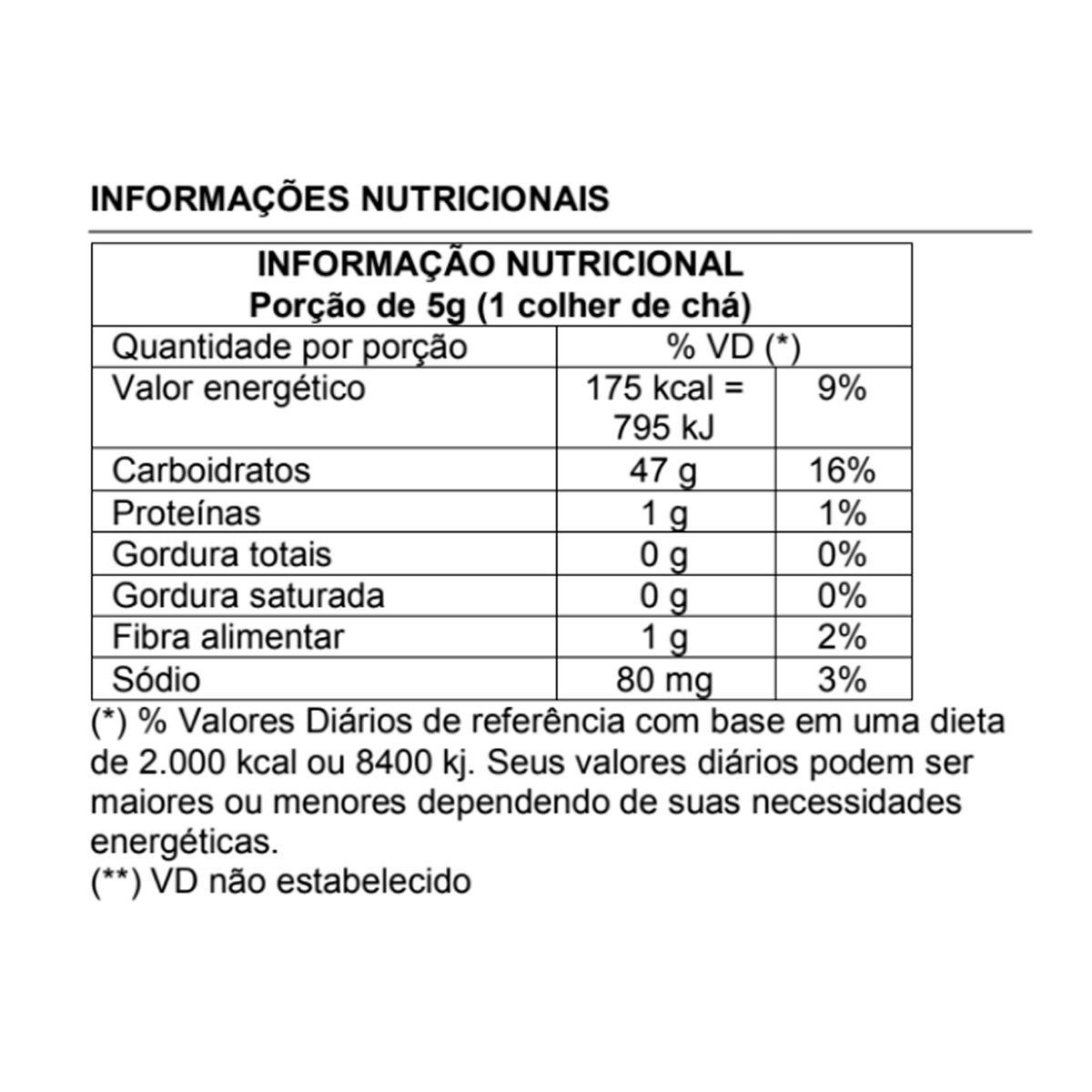 Açúcar de Coco (Granel) 1kg - Esverdeando