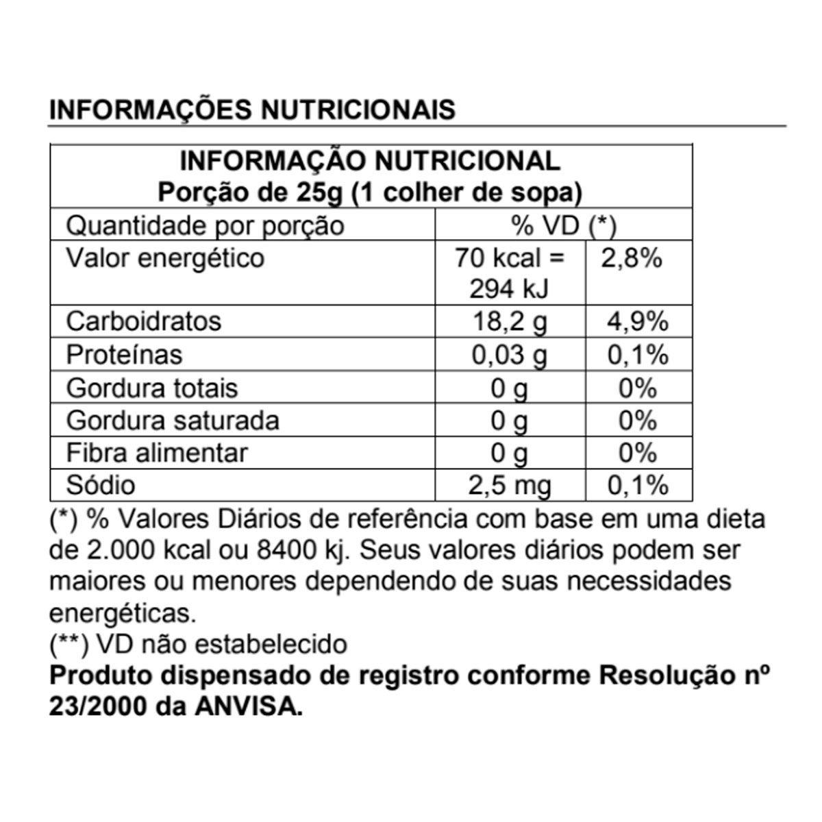 Açúcar Mascavo (Granel) 1kg - Esverdeando