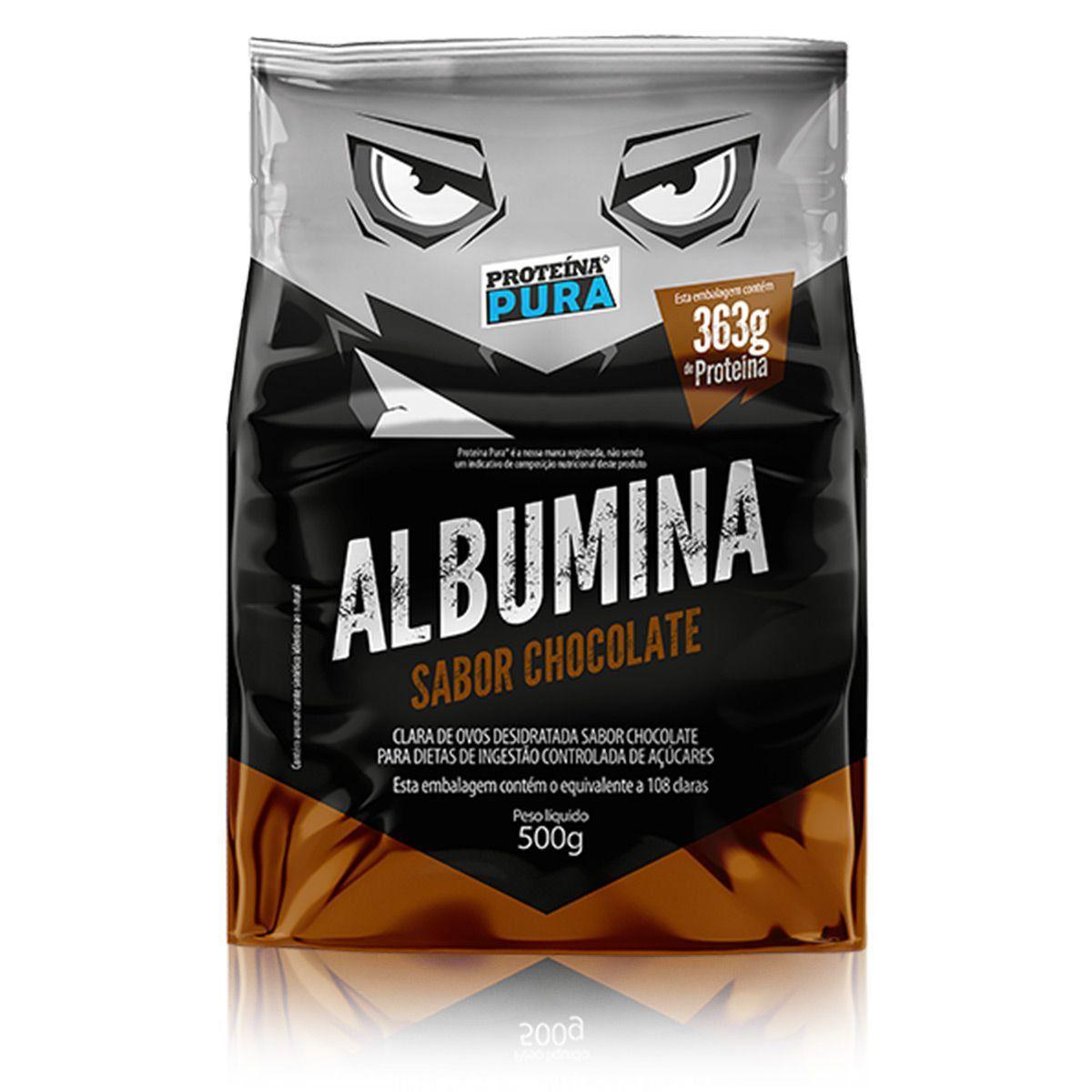 Albumina Desidratada 500g (Sabores) - Proteína Pura