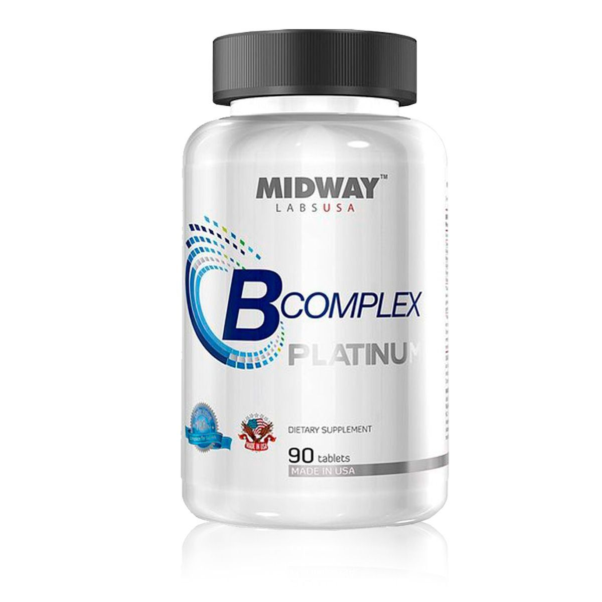 B Complex Platinum (Complexo B) 90 Caps - Midway