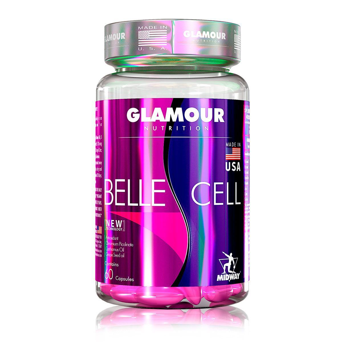 Belle Cell 60 Caps Glamour Nutrition - Midway