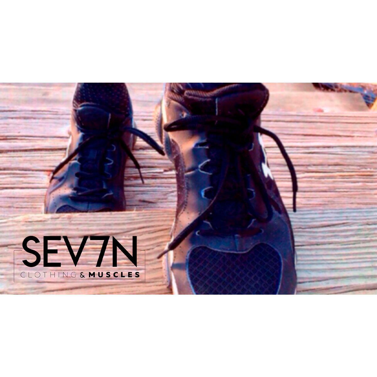 Bermuda Moletinho Preta - SEV7N Clothing Muscles