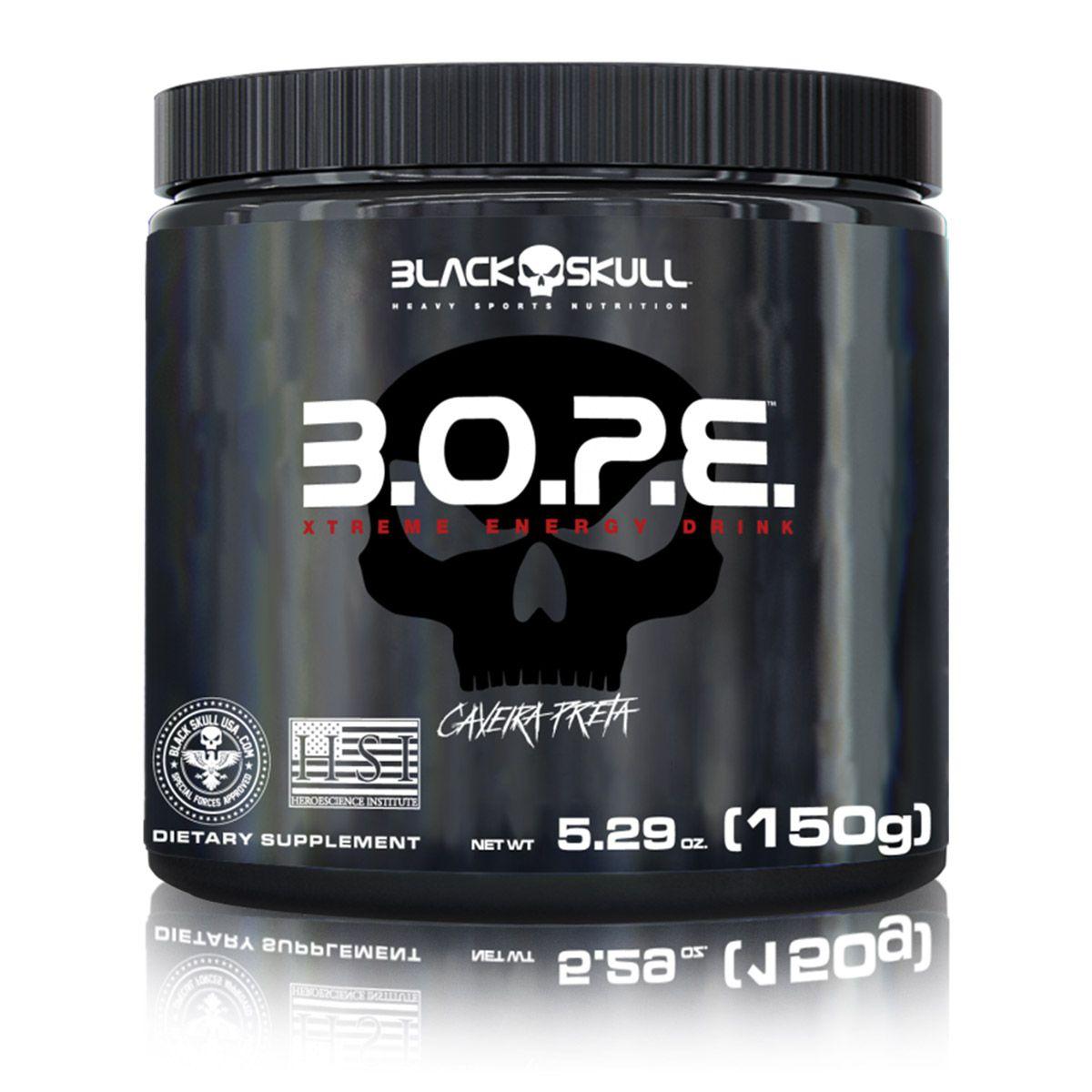 BOPE 150g Pré Treino - Black Skull