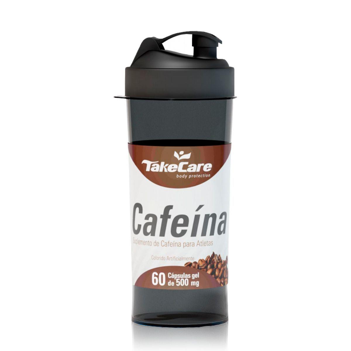 Cafeína 500mg 60 Caps + Coqueteleria - Take Care