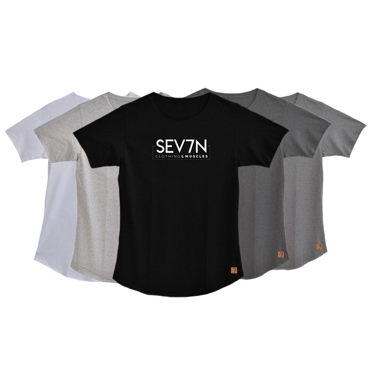 Camiseta Fit Workout - SEV7N Clothing Muscles