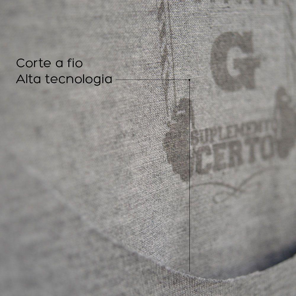 Camiseta Long Hardcore Nutrition Branca - Suplemento Certo