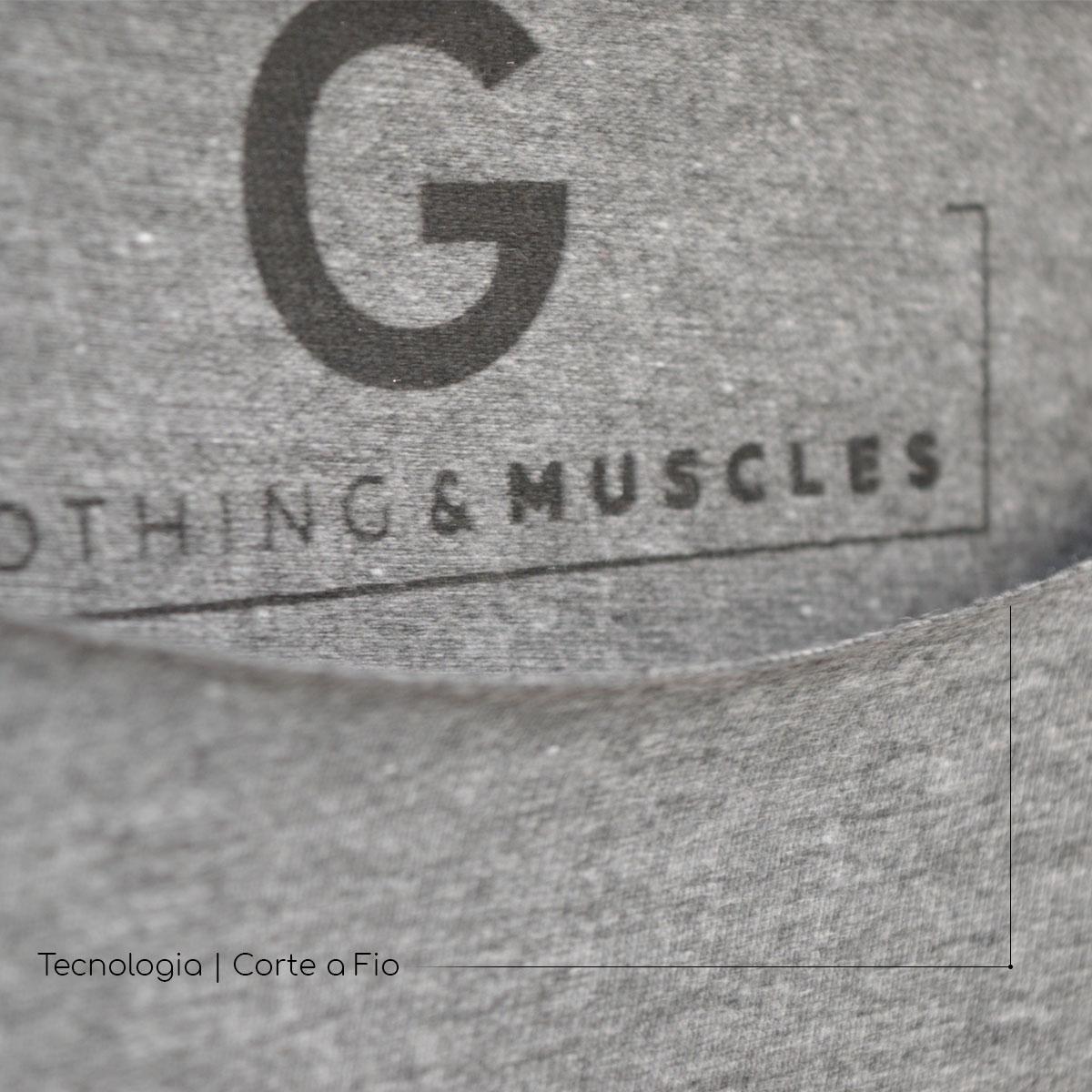 Cropped Fitness Feminino Preto - SEV7N Clothing Muscles