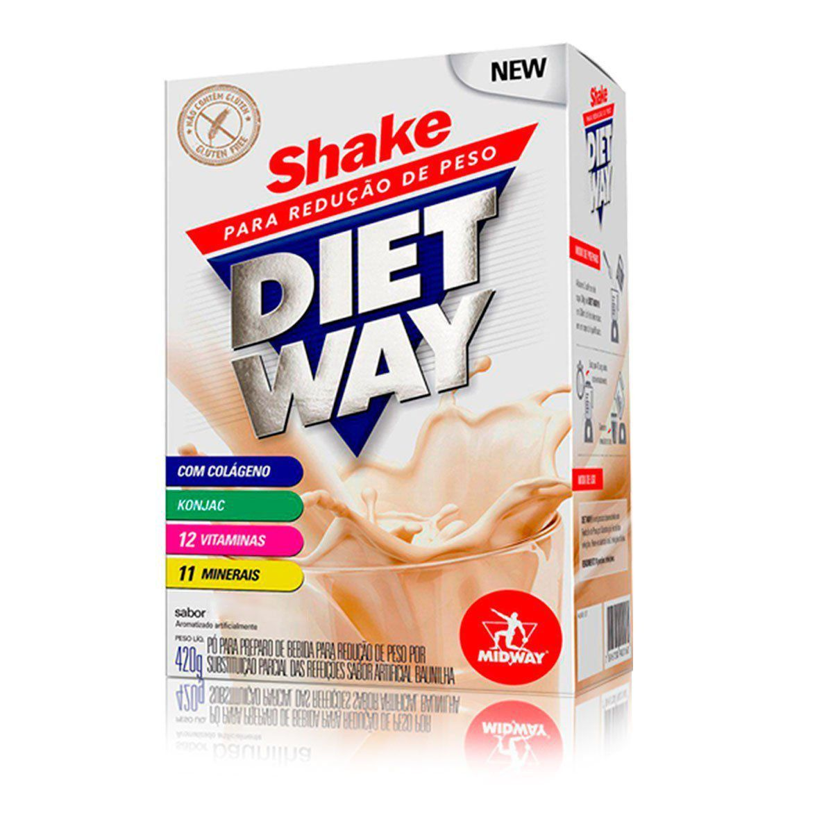 Diet Way Shake 420g - Midway