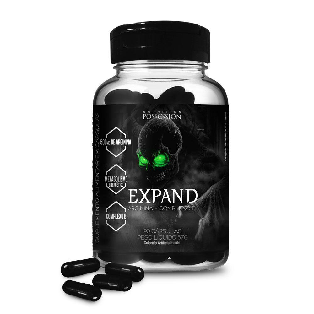 Expand 90 Cápsulas 100% Arginina - Possession Nutrition