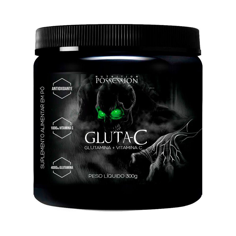 Gluta-C Glutamina + Vitamina C 300g - Possession Nutrition
