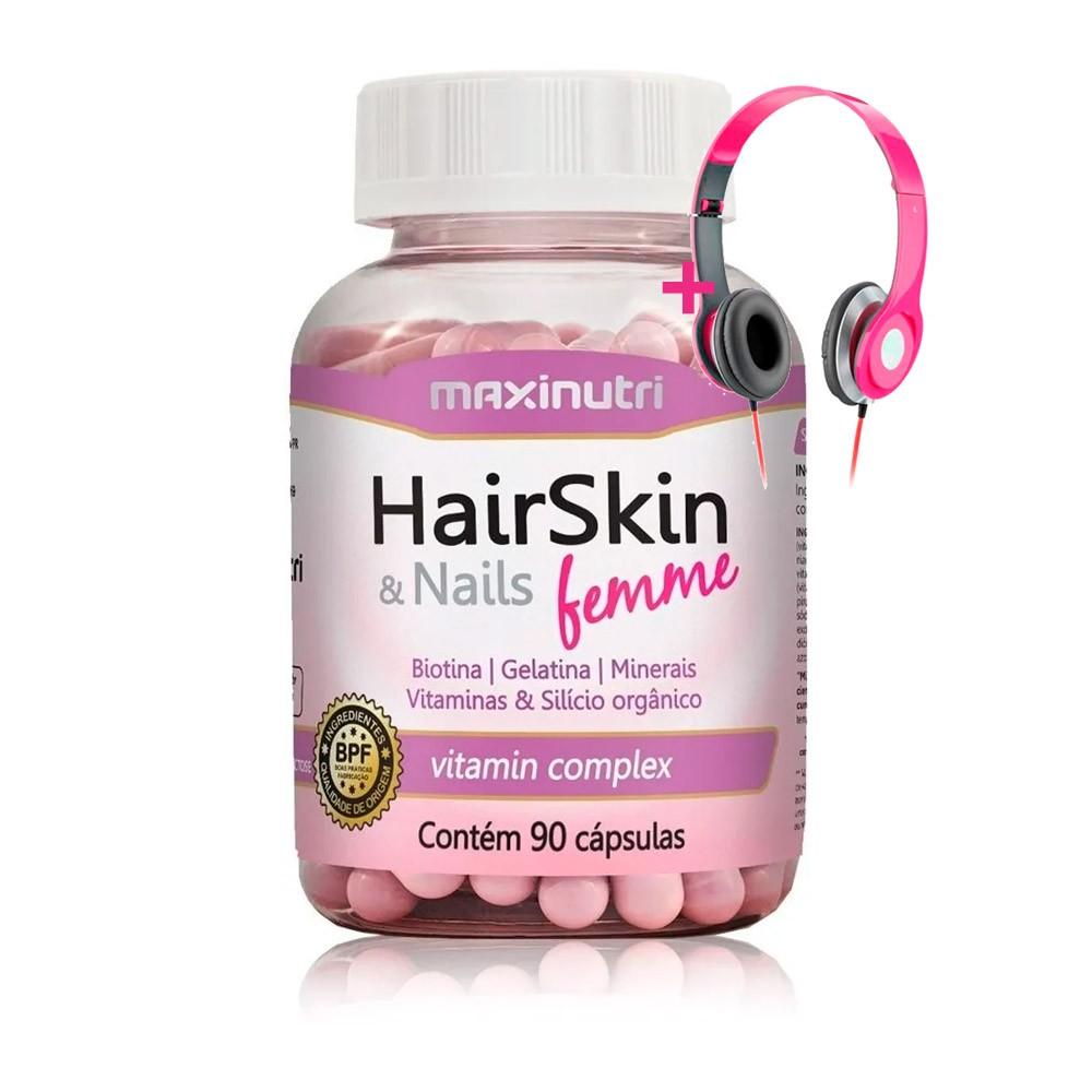 HairSkin e Nails Femme 90 Caps - Maxinutri