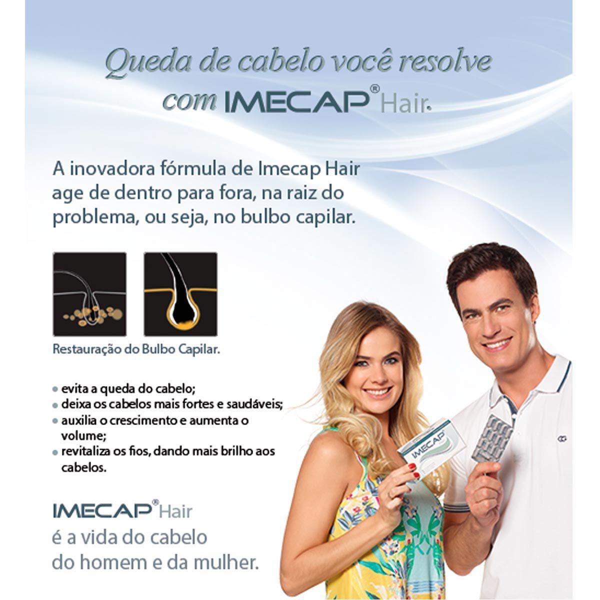 IMECAP Hair 30 Cápsulas - Divcom
