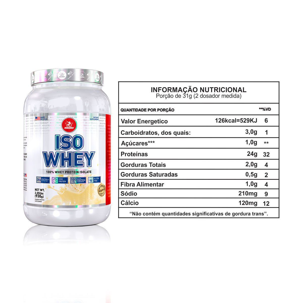 Iso Whey USA 930g - Midway