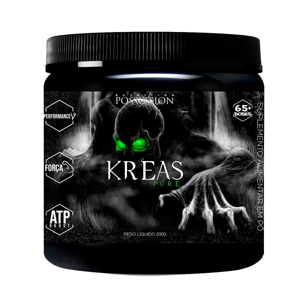 Kreas Pure Creatina Micronizada Monohidratada 200g - Possession Nutrition