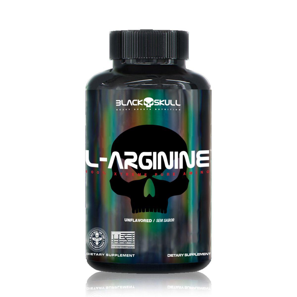 L-Arginine 120 Cápsulas - Black Skull
