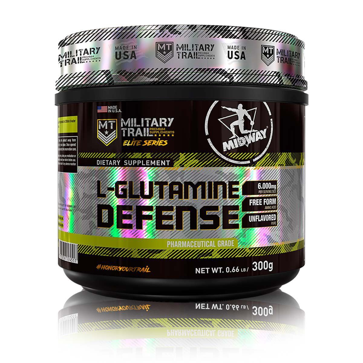 Glutamina Defense 300g Military Trail - Midway Labs