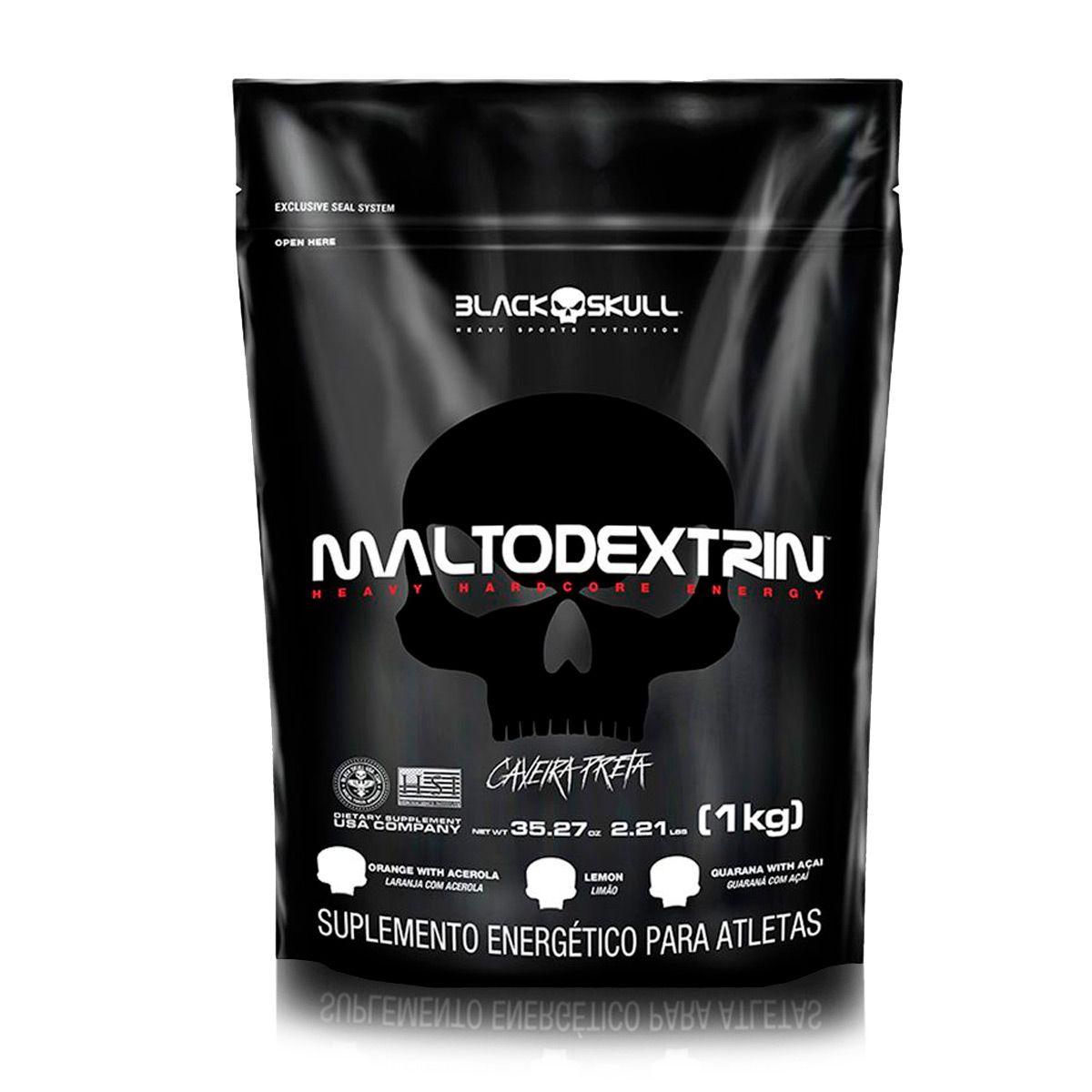 Maltodextrina Refil (1kg) - Black Skull