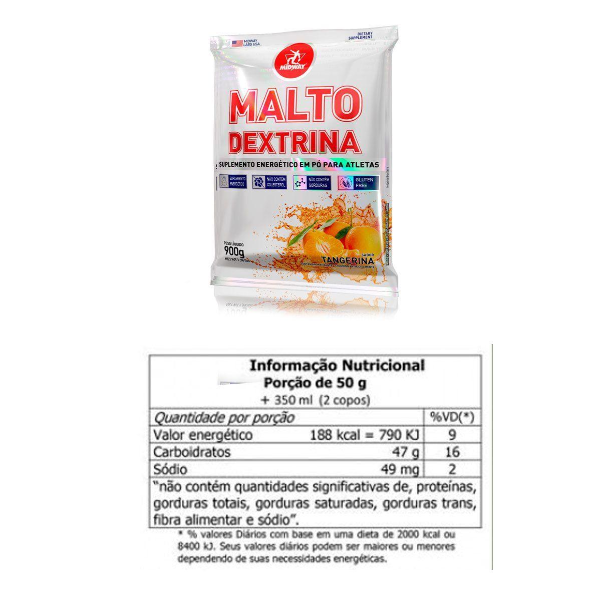 Maltodextrina USA 900g - Midway