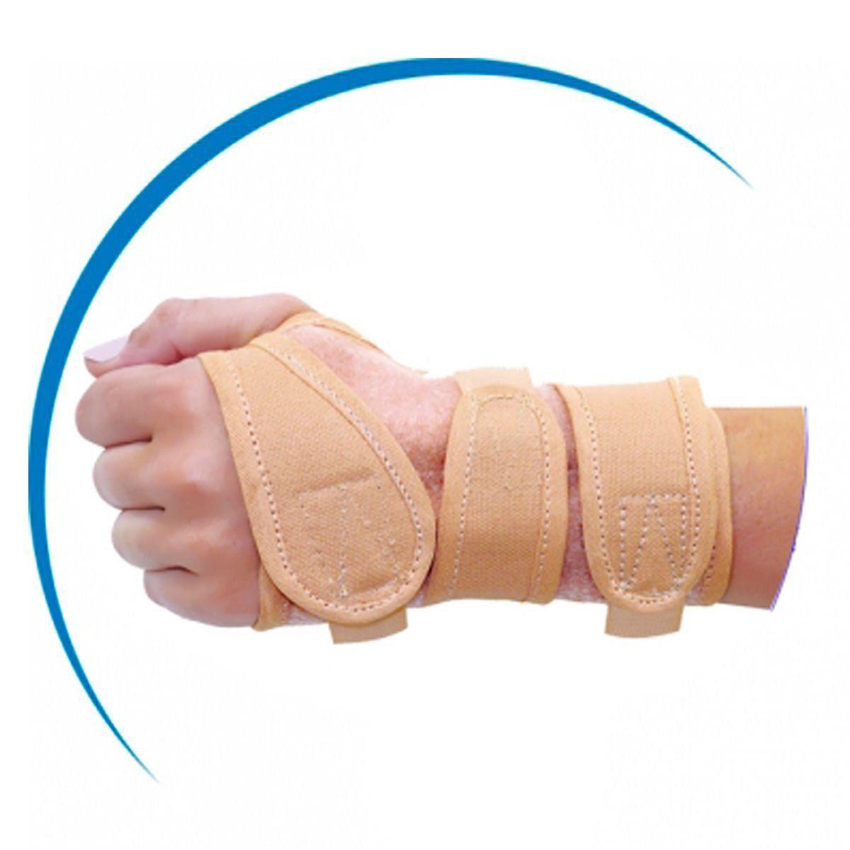 Mini Tala Lona Bege Mão Direita Pequena - Take Care